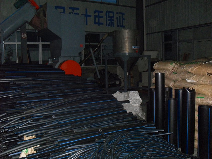 Large Diameter Plastic Pipe Recycling Machine
