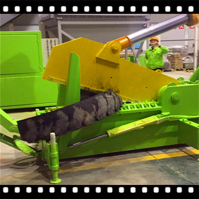 OTR Tire Recycling Section Cutter