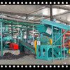 Economical fully-automatic scrapped waste tires recycling to rubber powder Plant