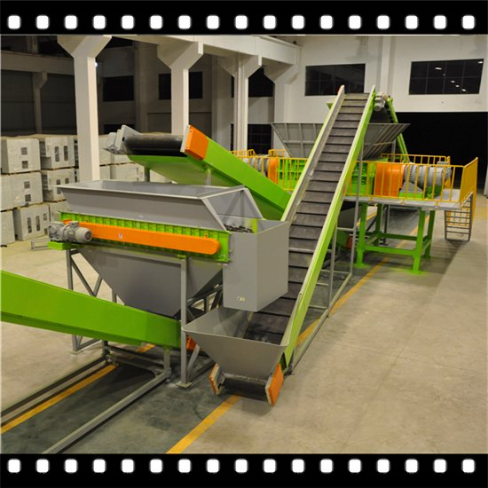 Fully Automatic Giant TDF (Tire Derived Fuel) Tire Recycling Line